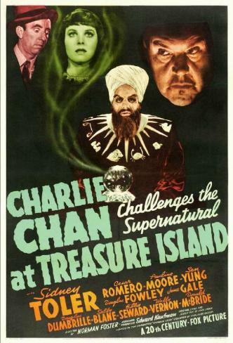 Charlie Chan at Treasure Island マスタープリント