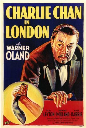 Charlie Chan em Londres Impressão original