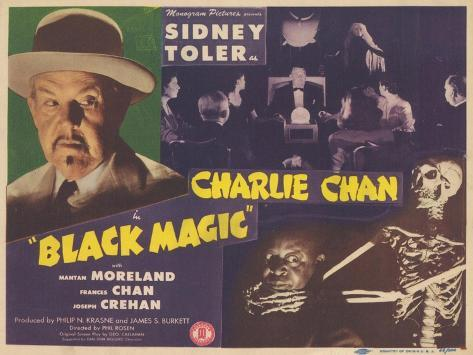 Charlie Chan in Black Magic, 1944 Lámina
