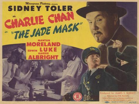 Charlie Chan in The Jade Mask, 1945 Konstprint