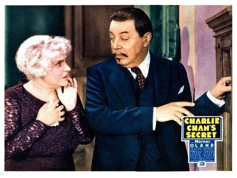 Charlie Chan's Secret, Henrietta Crosman, Warner Oland 1936 Foto
