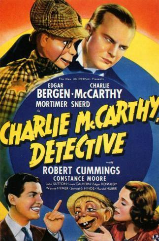 Charlie McCarthy, Detective Masterprint