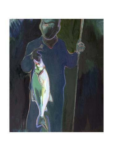 Hooked Giclee Print