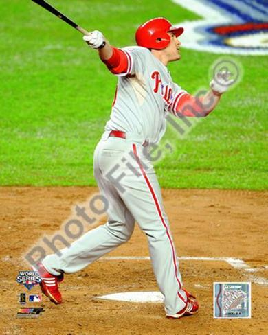 Chase Utley Game 1 of the 2009 World Series Photo