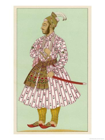 Murad Bakche Brother of the Mughal Emperor Auranzeb Alamgir I Giclee Print