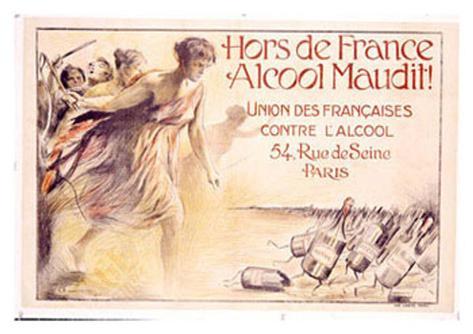 Alcool Maudit Giclée-vedos