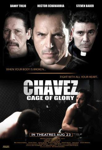 Chavez Cage of Glory Movie Poster Masterprint