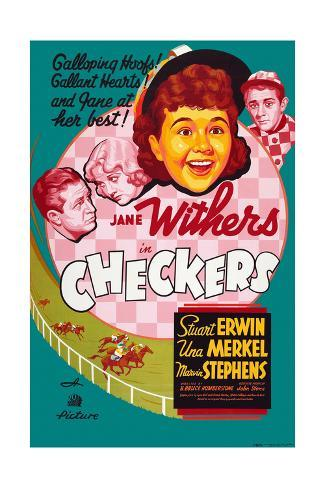 Checkers Giclee Print