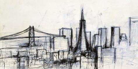 Today in San Francisco Art Print
