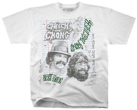 Cheech & Chong- Best Buds Stick Together T-Shirt