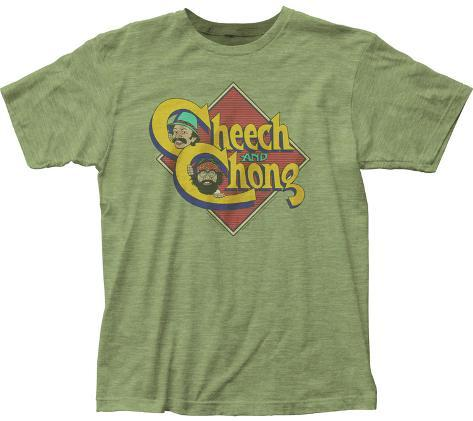 Cheech & Chong- Caricature Logo T-Shirt