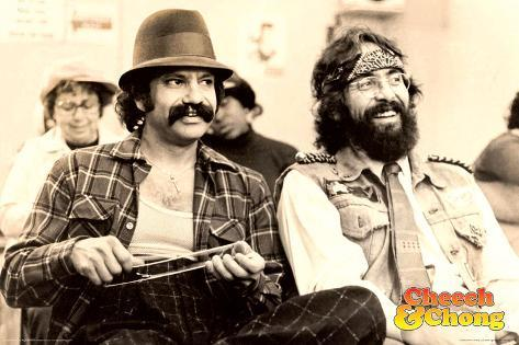 Cheech & Chong- Chill Poster