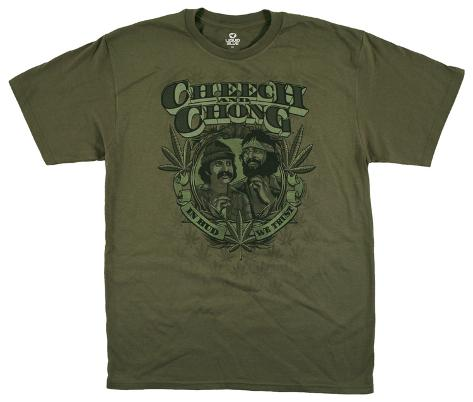 Cheech & Chong - In Weed We Trust Camiseta
