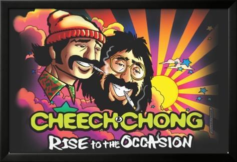 Cheech & Chong- Rise To The Occasion Poster con cornice e pellicola protettiva