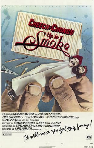 Cheech & Chong's Up in Smoke Impressão artística emoldurada
