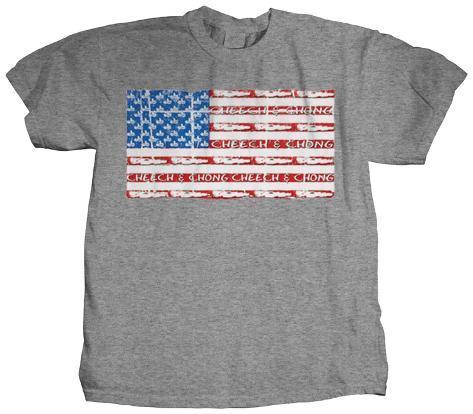 Cheech & Chong - Sombrero Joint Flag T-Shirt