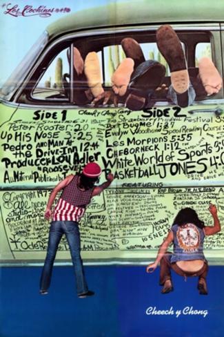 Cheech & Chong- The Pigs Grafitti Poster