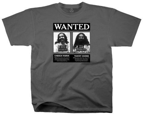 Cheech & Chong - Wanted Camiseta