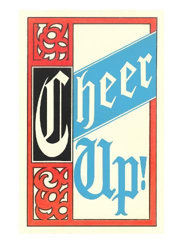 Cheer Up Stretched Canvas Print