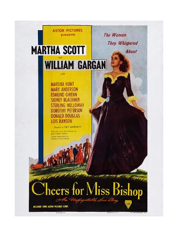 Cheers for Miss Bishop Giclee Print