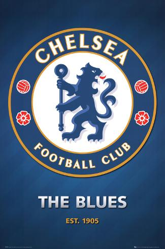 Chelsea FC Club Crest Pôster