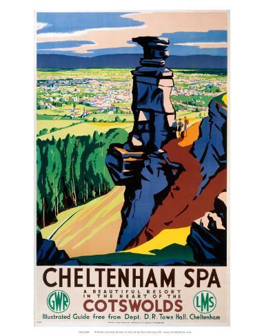 Cheltenham Spa, GWR/LMS, c.1923-1947 Art Print