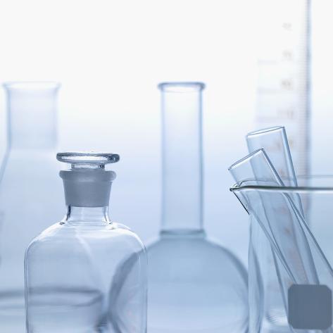 Chemistry Equipment Photographic Print