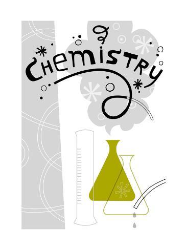 Chemistry Science Lab Art Print