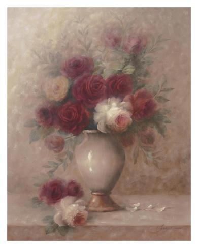 Emilia's Flowers Art Print