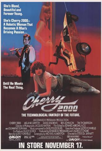 Cherry 2000 Poster