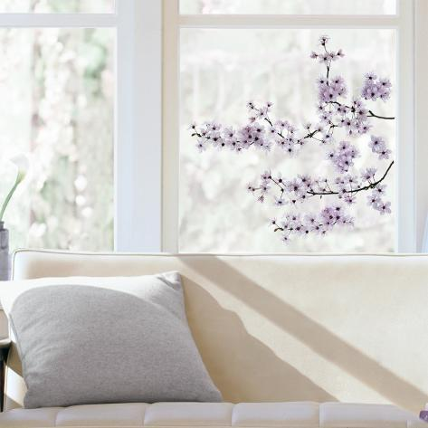 Cherry Blossom Window Decal Sticker Adesivo de janela