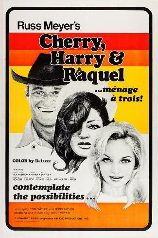 Cherry, Harry & Raquel Art Print
