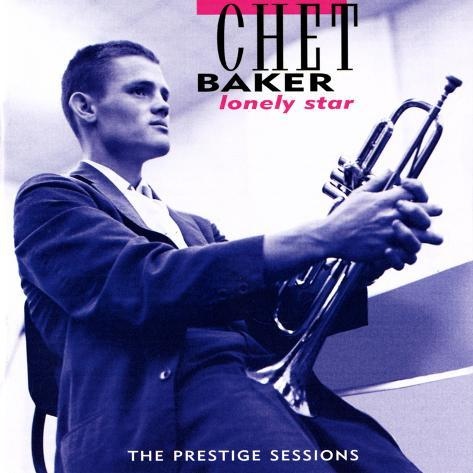 Chet Baker - Lonely Star Wall Decal