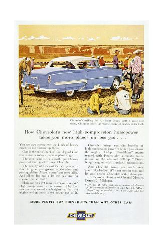 Chevrolet Bel Air Stampa giclée