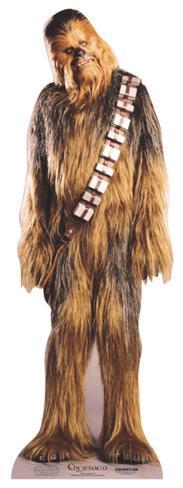 Chewbacca Cardboard Cutouts
