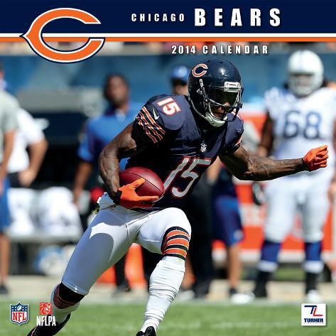 Chicago Bears - 2014 Calendar Calendars