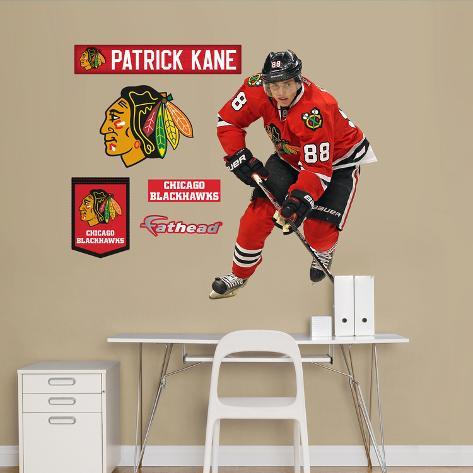 Chicago Blackhawks Patrick Kane - Fathead Jr. Wall Decal Sticker Wall Decal