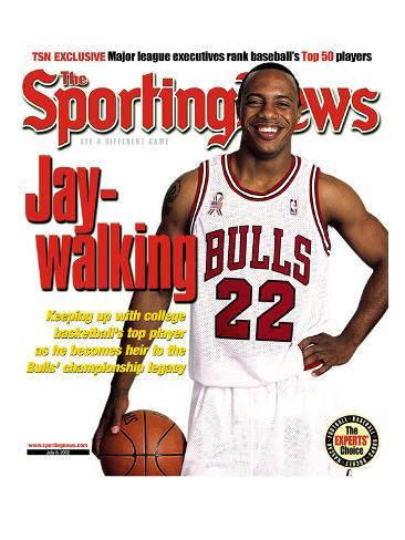 Chicago Bulls' Jay Williams - July 8, 2002 Stretched Canvas Print