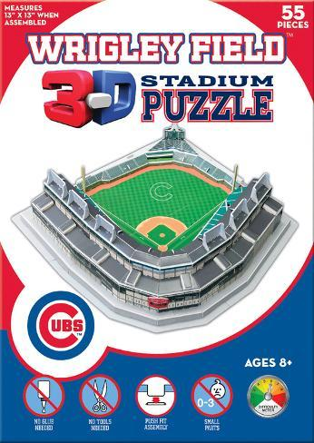 Chicago Cubs - Wrigley Field 3-D Puzzle Jigsaw Puzzle