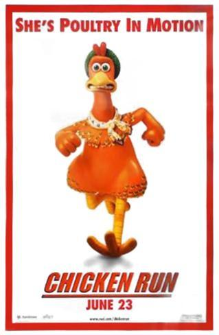 Chicken Run Double-sided poster