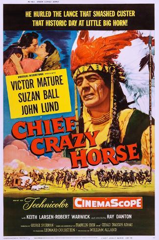 Chief Crazy Horse Impressão artística