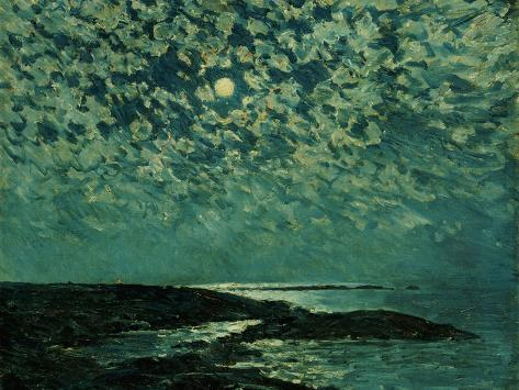 Moonlight, Isle of Shoals, 1892 Giclee Print