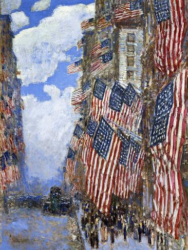 The Fourth of July, 1916 Giclee Print