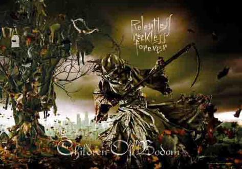 Children of Bodom - Reckless Forever Fabric Poster