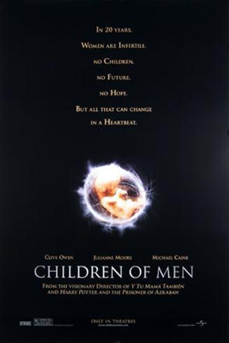 Children Of Men Dubbelsidig poster