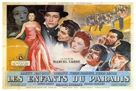 Children of Paradise - Foreign Style Poster