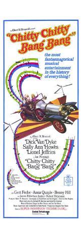 Chitty Chitty Bang Bang, 1969 Konstprint