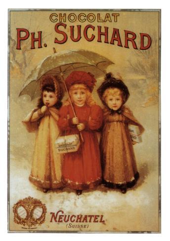 Choclat Ph. Suchard Art Print