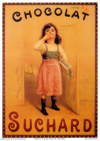 Choclat Suchard Art Print