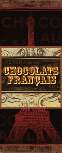 Chocolat II Art Print